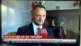 Yönetim Kurulu Başkanımız Sayın Serkan KAYA'nın Trthaber Röportajı
